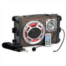 Micro System Caixa Som Amplicada Rca Mp3 Usb Karaoke Sd Wifi - Auto Mais