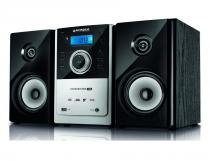 Micro System CD Sound Star USB MS-06 Preto e Prata Mondial - Mondial