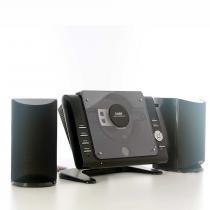 Micro System com Rádio AM/FM, Relógio, CD/MP3 Player e Entradas USB, SD e Auxiliar COBY MPCD497BR - Coby