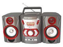 Micro System com Rádio FM Estéreo, CD Player, MP3, entrada auxiliar e USB Lenoxx - Lenoxx