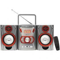 Micro System Lenoxx 12W Função MP3 Conexão USB - MC 271
