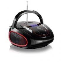 Micro System MP3 Bluetooth 5 Em 1 15w-Multilaser Sp186 Boombox - Multilaser
