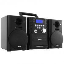 Micro System Philco 12W RMS USB MP3 MSP211N - BRITANIA PHILCO