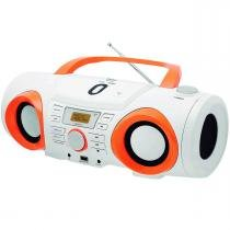 Micro System/Rádio Portátil Boombox USB CD Philco PB130B - Philco