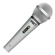 Microfone com Fio 3 Metros Metal Prata M-1138 - MXT - MXT