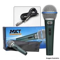 Microfone Dinâmico Pro Metal com Fio 4,5 Metros BT-58A - MXT - MXT