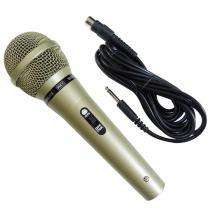 Microfone Karaokê Carol com Fio MUD515 - OEM - OEM