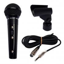 Microfone Metálico SM58 B Preto - Leson - Leson