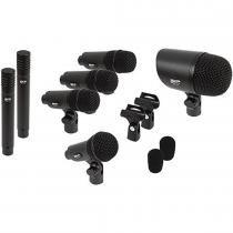 Microfone para Bateria 7 Peças SADMS7 - SKP - SKP