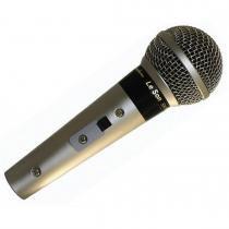 Microfone Profissional com Cabo 5 Metros Champanhe SM58 P4 - Leson - Leson