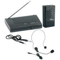 Microfone sem fio auricular vhf855 skp -