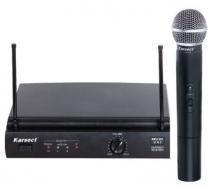 Microfone sem fio karsect kru-301/kst-5u -
