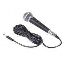 Microfone Vocal com Fio MV-60 Preto - Vinik - Vinik