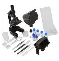 Microscópio Vivitar Com Ampliação 300x 600x E 1200x 100 Itens - VIVMIC4 -