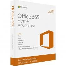 Microsoft Office 365 Home 32/64 Português - FPP -