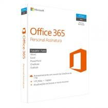 Microsoft Office 365 Personal Assinatura (1 ano) - Para 1 Computador (PC ou Mac) e 1 Tablet -