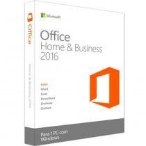 Microsoft Office Home Business 2016 32/64 Português - FPP - Microsoft