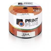 Midia Multilaser Cd-r Vel. 52x - 50 Un. Shrink Print Plus - Cd051pp -