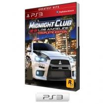 Midnight Club Los Angeles: Complete Edition - para PS3 - Rockstar
