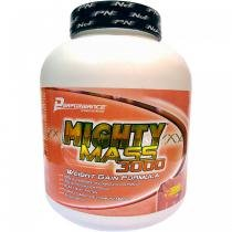 Mighty Mass 3000 3kg Morango Performance Nutrition - Performance Nutrition