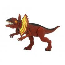 Mighty Megassauro Feroz 20cm Dilophosaurus - Fun Divirta-se -