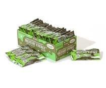 Military Energy Gum - 100mg cafeina - 1 pacote com 5 pieces - Hortelã - Hortelã - 1 pacote - Military Energy Gum