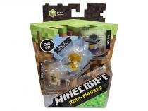 Minecraft Minifigures Grass Series 3 Pack - Mattel
