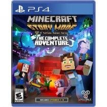 Minecraft Story Mode - The Complete Adventure - PS4 - Telltale