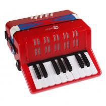 Mini Acordeon com 8 Graves - Instrumentos Shiny Music
