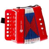Mini Acordeon Shiny Music ST104-1 - Shiny Toys