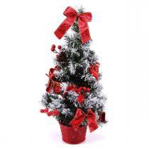 Mini Árvore de Natal Vermelha 50cm Havan -