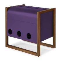 Mini Bar Canyon Cor Cacau Com Roxo - 27648 - Sun House
