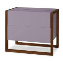 Mini Bar Winter Cor Cacau Com Lilas - 29500 - Sun House