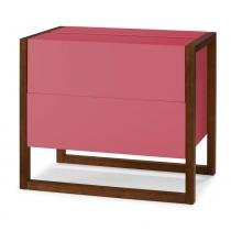 Mini Bar Winter Cor Cacau Com Rosa - 29496 - Sun House