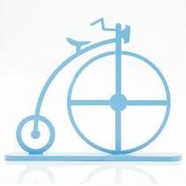 Mini Bicicleta 1870 Tamanho M Azul Bebê - Geton Concept - Azul - Geton Concept