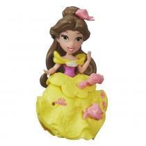 Mini Boneca com Acessórios - Disney Princesas - Little Kingdom - Bela - Hasbro - Hasbro