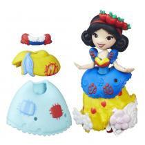 Mini Boneca com Vestidos - Disney Princesas - Little Kingdom - Branca de Neve - Hasbro - Hasbro