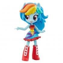 Mini Boneca Equestrial Girls Articulada - My Little Pony - Rainbow Dash - Hasbro - Hasbro