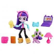 Mini Boneca Equestrial Girls com Acessórios - My Little Pony - Twilight Sparkle - Hasbro - Hasbro