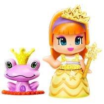 Mini Boneca Pinypon Princesa Multikids Vestido Amarelo com Acessórios -