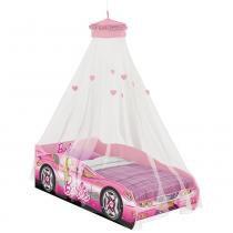 Mini Cama Barbie com Dorsel Teto Pura Magia - Pura Magia