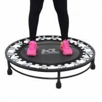 Mini Cama Elástica Trampolim Jump Profissional 150 Kg + Dvd - Kl master fitness