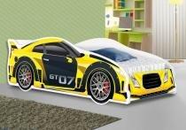 Mini Cama Juvenil Carros - Amarela - WS