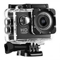 Mini Câmera Filmadora Sports Hd 1080p Aprov Dagua Bike Moto Preto - Bk imports