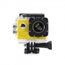 Mini Câmera Filmadora Sports Hd 1080p Prova Dagua Bike Wifi Amarelo - Bk imports