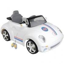 Mini Carro Elétrico Infantil Beat - com Controle Remoto 2 Marchas Emite Sons Kiddo