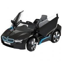 Mini Carro Elétrico Infantil BMW I8 Concept - com Controle Remoto Emite Sons 6 Volts Biemme