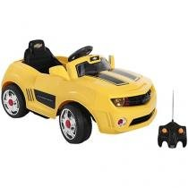 Mini Carro Elétrico Infantil Camaro 6V - com Controle Remoto 2 Marchas Bandeirante