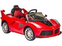 Mini Carro Elétrico Infantil Ferrari 2652  - com Controle Remoto 3 Marchas 12V Bandeirante