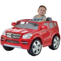 Mini Carro Elétrico Infantil Mercedes Benz - com Controle Remoto 2 Marchas Emite Sons Biemme
